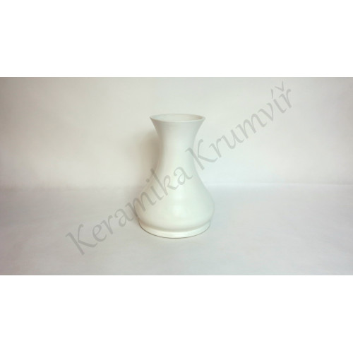 Váza KK 312 Bílá