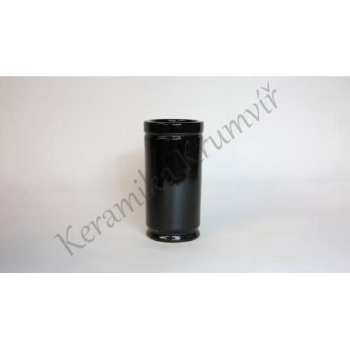 Váza KK 32 Černá lesklá