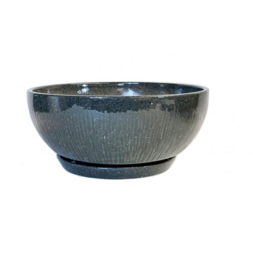 Dekor 84 mramor šedý s podmiskou