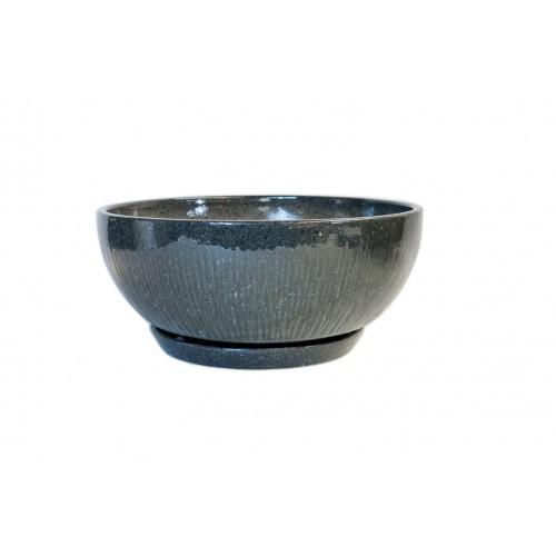 Dekor 85 mramor šedý s podmiskou