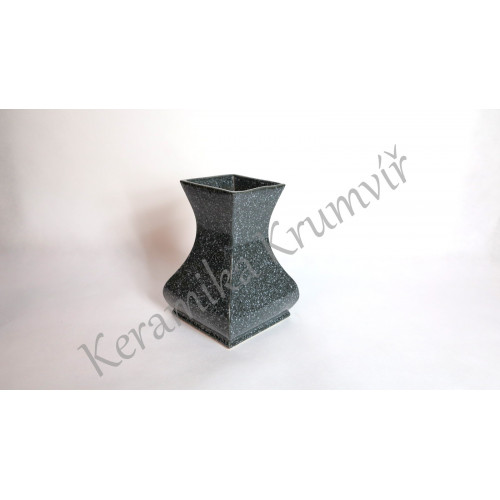 Váza KK 3012H Mramor šedý