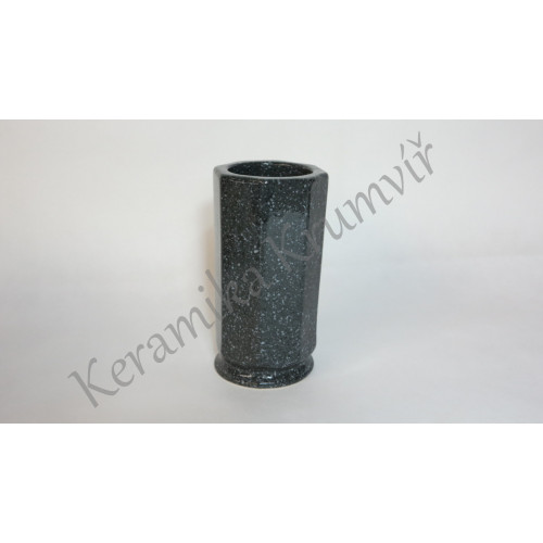 Váza KK 31 Mramor šedý