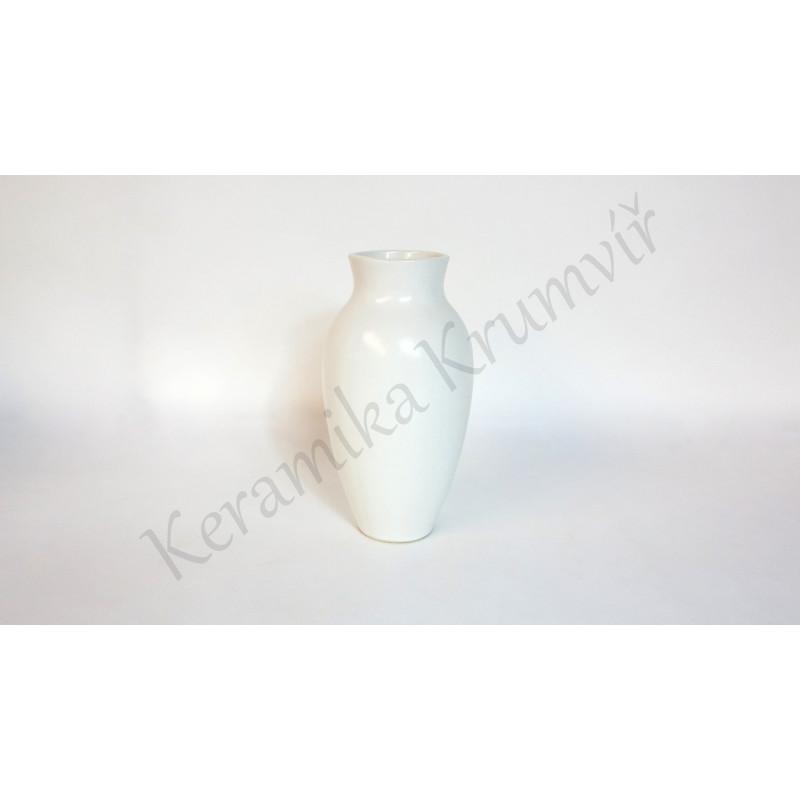 Váza KK 28 Bílá