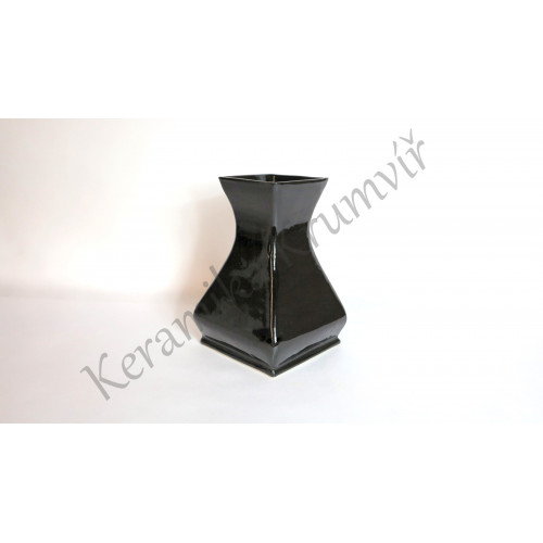 Váza KK 312H Černá lesklá