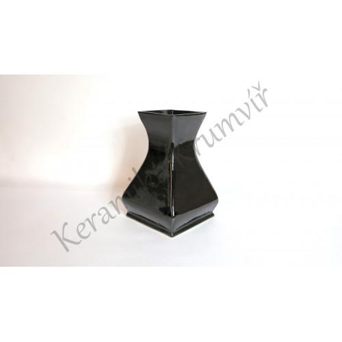 Váza KK 322H Černá lesklá