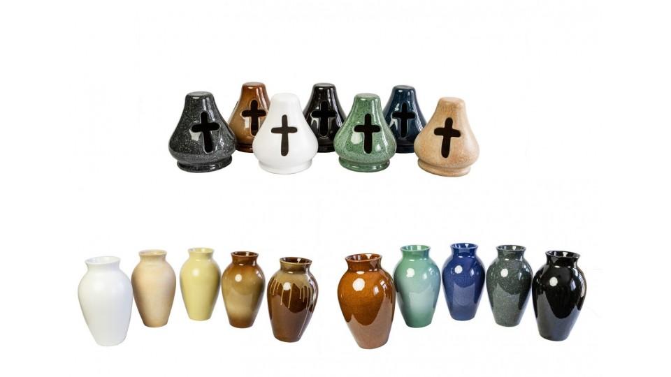 Vázy a lampy